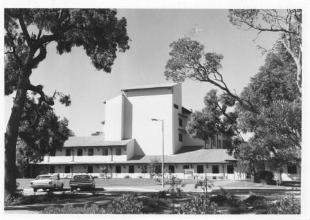 Wanneroo Hospital 1980 - photo courtesy of Picture Joondalup