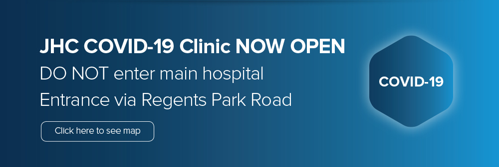 JHC COVID-19 Clinic now open